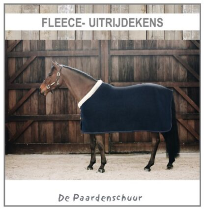 Fleece- Uitrijdekens